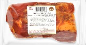 Продукт зі свинини Шийка свиняча Безлюдівський м'ясокомбінат в/к кг