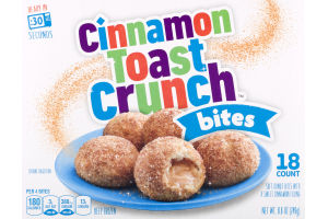 Cinnamon Toast Crunch Bites - 18 CT