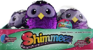 Мягкая игрушка с пайетками SHIMMEEZ – МУДРАЯ СОВА (20 см)