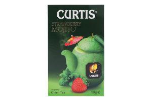 Чай зелений байховий листовий Strawberry Mojito Curtis к/у 90г