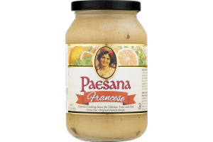 Paesana Cooking Sauce Francese