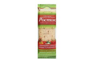 Хлебцы хрустящие из пророщенных зерен пшеницы со сладким перцем и зеленью Росток м/у 120г