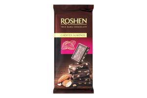 Шоколад черный с подсоленным миндалем Roshen м/у 85г