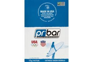 PR Bar Personal Record Nutritional Bar Oatmeal Raisin Granola - 12 Bars
