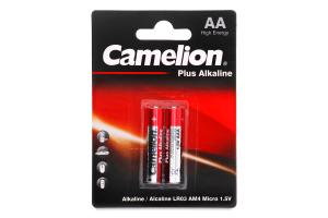 Батарейки ААА 1.5V LR03-BP2 Plus Alkaline Camelion 2шт