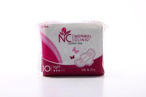 Прокладки гигиенические Comfort Ultra Light Silk&Dry Normal Clinic 10шт