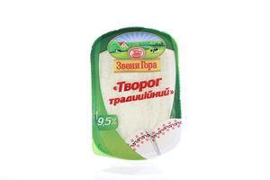 Творог 9,5% Домашний кисломолочный ЗвениГора п/б 400г
