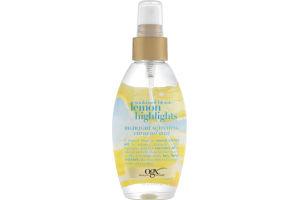 OGX Highlight Activating Citrus Oil Mist Sunkissed Blonde Lemon Highlights