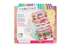 Набір для дітей від 8років для створення шарм-браслетів №MR1724 Казкова природа Make It Real 1шт