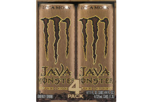 Monster Java Coffee + Energy Loca Moca - 4 PK