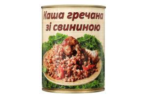 Каша гречана зі свининою L'appetit з/б 340г