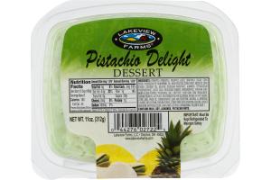 Lakeview Farms Pistachio Delight Dessert
