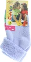 CONTE-KIDS SOF-TIKI Шкарпетки дитячі (проти ковзання) р.12 104 блідо-фіолетовий