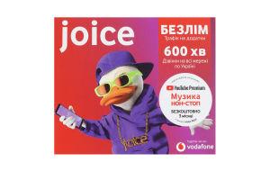 Пакет стартовый Joice Vodafone 1шт