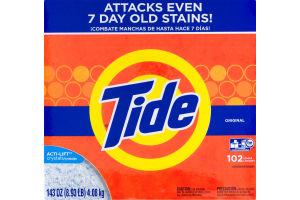 Tide Powder Laundry Detergant Original