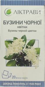 Бузини чорної квітки (20ф/п по 1,5г)