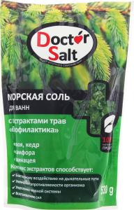 """Dr Salt Мор. сіль д/ванн з екстр. трав """"Профілактика"""" 530г"""