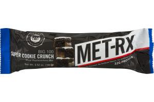 MET-Rx Big 100 Super Cookie Crunch Meal Replacement Bar