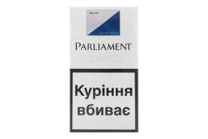 Сигареты с фильтром Silver Super Slims Parliament 20шт