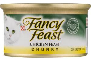 Fancy Feast Gourmet Cat Food Chicken Feast Chunky