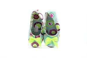 Тапочки-чешки комнатные женские Twins Абстракция 36-37 разноцветные