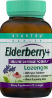 Quantum Health Elderberry+ Immune Defense Formula Lozenges - 36 CT