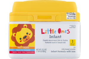 Little Ones Infant Formula With Iron 1 / Birth - 12 Months