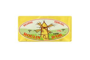Масло 82% солоне вершкове Moulin D'or м/у 250г