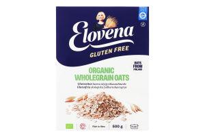 Пластівці вівсяні органічні з цільного зерна Elovena к/у 500г