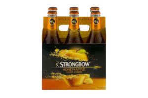 Strongbow Honey & Apple Hard Cider - 6 PK