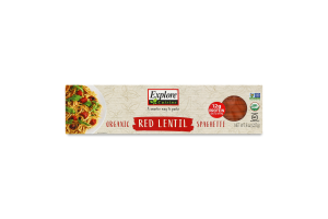 Explore Cuisine Organic Red Lentil Spaghetti