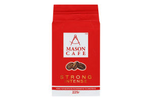 Кава натуральна смажена мелена Strong Intense Mason Cafe м/у 225г