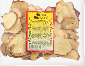 Чипсы яблочные с корицей Світ фруктів м/у 50г