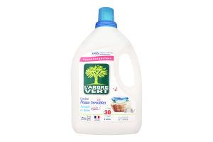Средство жидкое для стирки Чувствительная кожа L'arbre Vert 2л