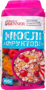 Мюсли Фруктовые Dr.Benner м/у 400г