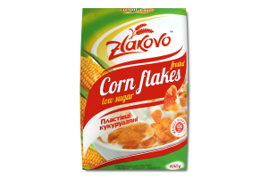 Пластівці кукурудзяні глазуровані цукровою глазур'ю Zlakovo м/у 650г