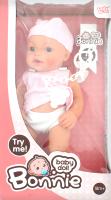 Лялька Ledy Toys Bonnie Малюк у рожевій майці 36см LD9902A