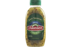 Claussen Easy Squeeze Sweet Pickle Relish