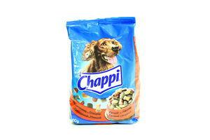 Корм сухой для собак С говядиной и птицей Chappi м/у 500г