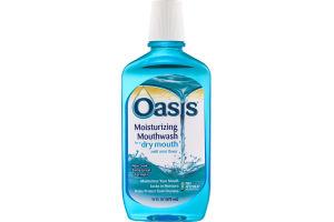 Oasis Moisturizing Mouthwash Mild Mint