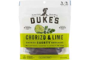 Duke's Smoked Shorty Sausages Chorizo & Lime