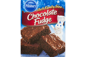 Pillsbury Brownie Mix Chocolate Fudge Family Size