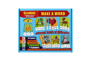 Гра настільна для дітей від 3років англ Ерудит Київська Фабрика Іграшок 1шт