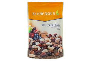 Суміш Seeberger горішків та ягід поживна 150г х13