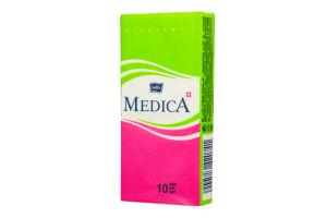 Хустинки Bella носові гігієнічні ,тришарові MEDICA 10шт