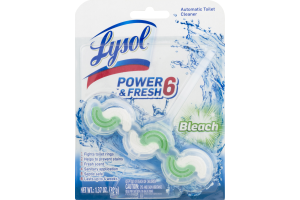 Lysol Power & Fresh 6 Automatic Toilet Cleaner Bleach