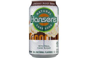 Hansen's Natural Cane Soda Creamy Root Beer