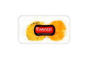 Сыр 25% из козьего молока с фисташками и апельсином Caprino Caprissima Carozzi п/у 2x80г