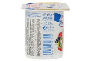 Десерт молочний 1.6% з лісовими ягодами Elle&Vire ст 125г