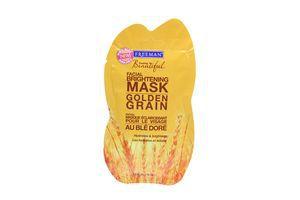 Маска для лица отбеливающая Золотая пшеница Feeling Beautiful Freeman 15мл